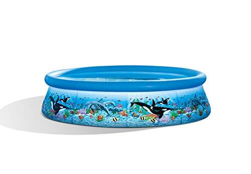 Intex 28124 - Piscina Easy Oceano, 305 x 76 cm, Blu