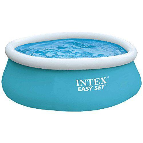 Intex 28101 My First Easy Cm 183X51 Piscina Gioco Estivo Estate Giocattolo 264, PVC, Multicolore, 183 x 51 cm