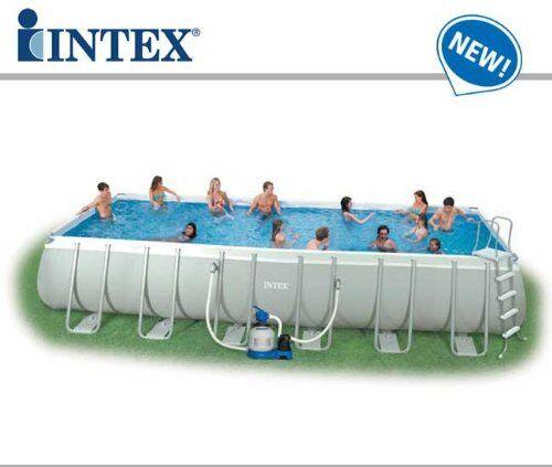 Intex 54984 Piscina Intex Fuori Terra Ultra Metal 732 x 366 x 132
