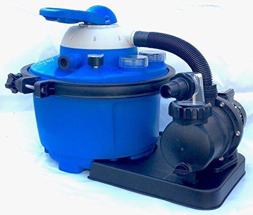 smmo Pompa Filtro a Sabbia per Piscina fuoriterra interrata (6 Metri cubi)