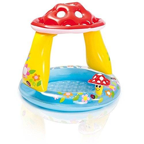 intex piscina gonfiabile tonda fungo con parasole 57407 intex giardino 163972