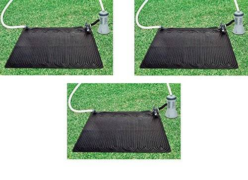 OFFERTA 3 Pannelli Pannello solare termici riscaldatore acqua piscina Intex 28685