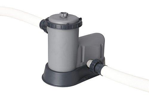 Flowclear Bestway 58389 Flowclear - Pompa di Filtraggio a Cartuccia per Piscine fuori Terra, Portata 5.678 L/H