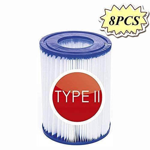 NJYBF - Cartuccia filtrante per piscina, misura 1, per Bestway, filtro gonfiabile per piscina, accessorio per la pulizia della piscina, cartucce filtranti in carta
