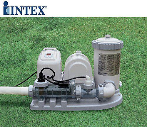 Campeggio Intex 54612 Clorinatore con pompa Filtro per piscine fuori terra