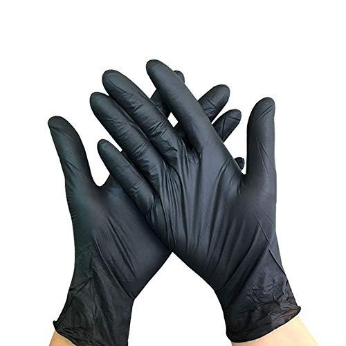 boyang 100 guanti usa e getta multiuso per lavoro, preparazione di cibo, tatuaggi, pulizia, commercio all'ingrosso, artigianato, pittura, cucina, pulizia, protezione salute