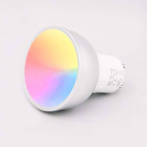 XM Lampadina GU10 WiFi Smart LED, APP e Controllo Vocale, con Controllo di Gruppo Family Sharing, Bulbo GU10 a Colori Regolabile RGB 5W, Compatibile con Amazon Alexa / Assistente Google(GU10 1 pezzi)