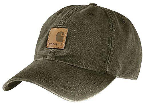 Carhartt 100289 Odessa Mens Light-Structured Medium-Profile Work Wear Cap