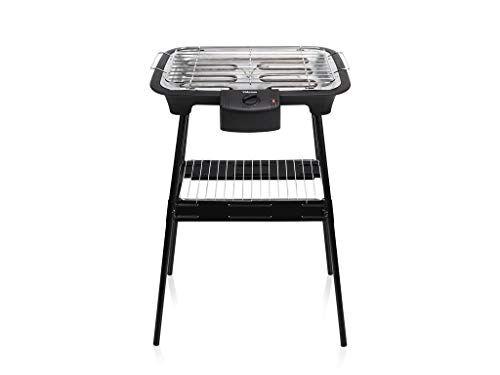 tristar barbecue elettrico bq-2883, acciaio, nero