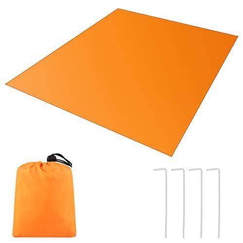 bfull, coperta da picnic impermeabile, telo da spiaggia per tenda e esterni, 150 x 180 cm