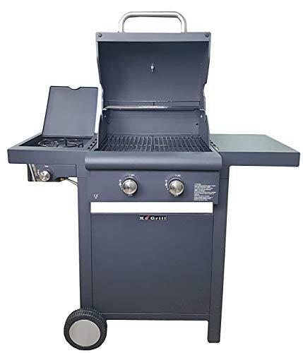 manieri barbecue a gas gpl a pietra lavica 2 fuochi arrosto basic nero