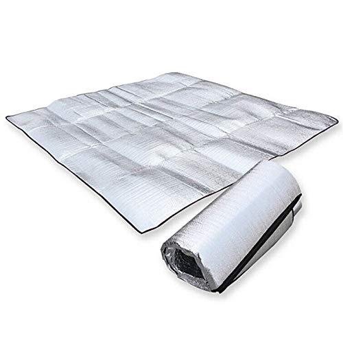srjskr campeggio esterno della stuoia della tenda ultraleggera di alluminio schiuma isolante utilizzando picnic impermeabile mats coperta beach cuscino barbecue pad (size : 100x100cm)