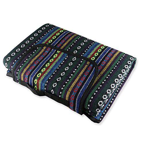 extsud 200x150cm coperta da picnic, tappeto pieghevole morbido, con maniglia facile da trasportare, stuoia ideale per campeggio giardino tenda prato spiaggia