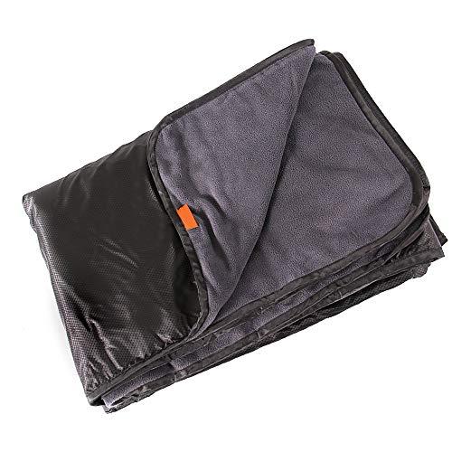 aozbz coperta impermeabile da picnic a prova di pioggia e antivento per campeggio, festival, spiaggia e picnic