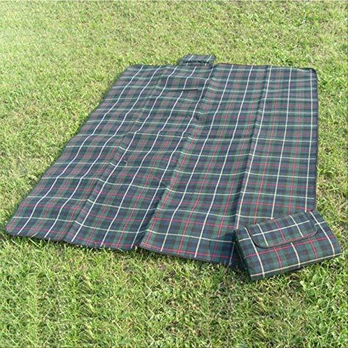 ycyh coperta da picnic tenda da campeggio all'aperto stuoia a prova d'umidit pieghevole baby climb plaid coperta da esterno impermeabile coperta da spiaggia pieghevole 200x150cm verde