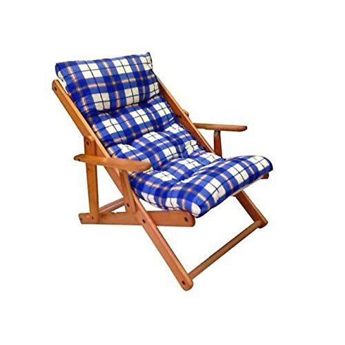 gallotti poltrona relax harmony reclinabile blu
