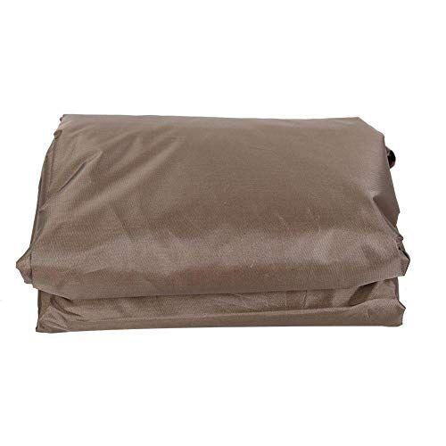 suchinm copertura per vasca idromassaggio esterna, copertura per vasca esterna antipolvere antipioggia quadrata esterna per tappo copertura vasca da bagno termale(1#)