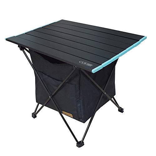 reayou tavolo da campeggio leggero pieghevole in alluminio,portatile con borsa da trasporto, tavolino per all'aperto per picnic, spiaggia, escursionismo, viaggi, pesca(m)