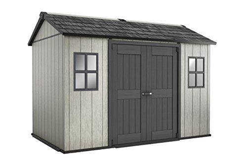 keter casetta da giardino oakland 1175, marrone/grigio, 350x 228x 254cm, 17204172