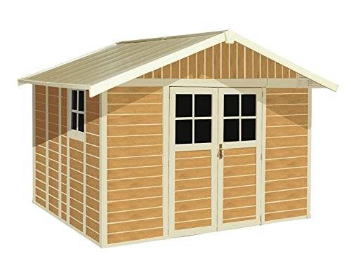 grosfillex casetta da giardino deco 7,5 sherwood grosfillex