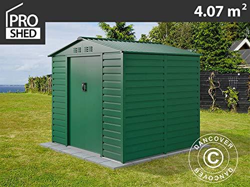 dancover casetta da giardino 2,13x1,91x1,90m proshed®, verde