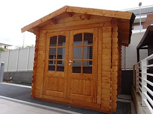 dekalux casetta in legno da giardino 2,2x2,2-28mm