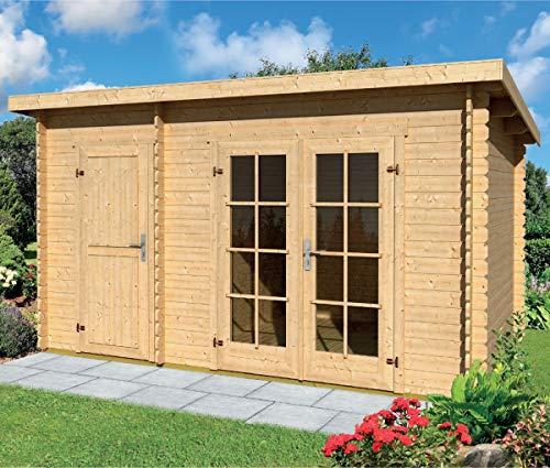 gartenpro casetta giardino belmont legno nordico gartenpro 443x298x222/200h