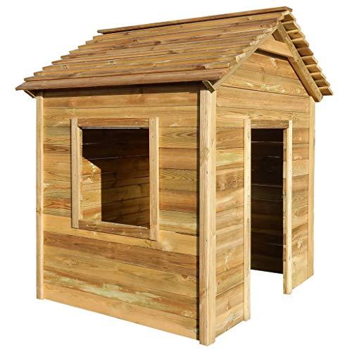 vidaxl casetta da giardino per bambini 123x120x146cm legno di pino fsc