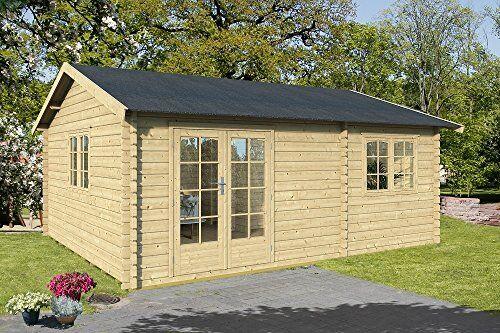 gartenpro casetta giardino arkansas ii legno nordico gartenpro 558x468x287/210h