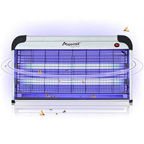 ASPECTEK Zanzariera elettrica per Esterni e Interni da, Sistema Altamente Efficace e Non Toss (Zanzariera elettrica 40W)