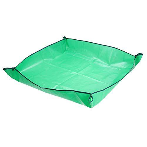 Yarnow Ginocchiere da Giardino Stoffa da Giardinaggio Giardinaggio Trapianto Pad Pad Pianta Rinvaso Tappetino Quadrato Impermeabile Sporco Pad Catcher 100X100cm