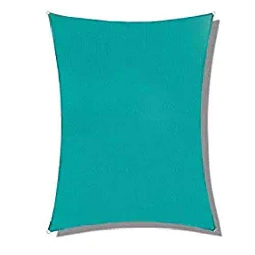 jianfei rete parasole serre antivento ombra vela picnic all'aperto tenda da spiaggia pianta da giardino impermeabile, 2 colori, 22 taglie supporta la personalizzazione (color : blue, size : 2.0x4.0m)