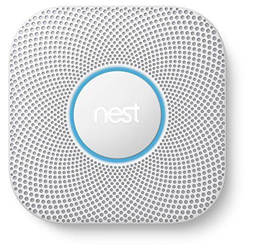 Nest Protect - Rilevatore di fumo e di monossido di carbonio, seconda generazione, funzionamento a batteria