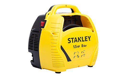 Stanley Compressore d'aria con acessori 1,5 HP fino a 8 Bar