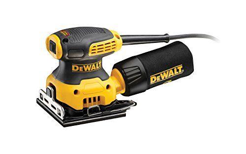 Dewalt DWE6411-QS Levigatrice Orbitale, 230 W, 220 V, Giallo/Nero, 115 x 115 mm