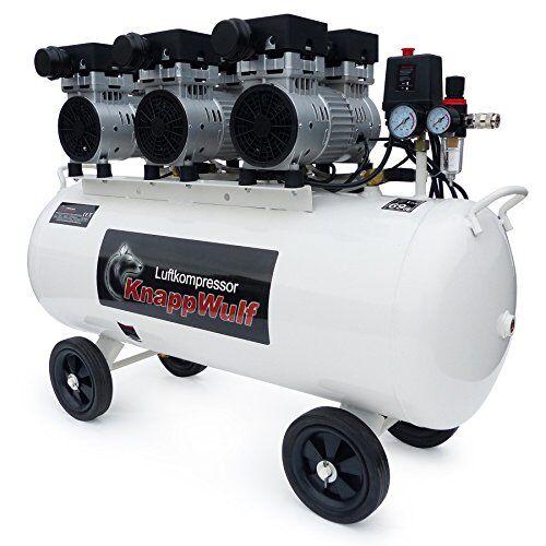knappwulf kw2100 compressore ad aria, con 3motori da 750w, con serbatoio da 100 l
