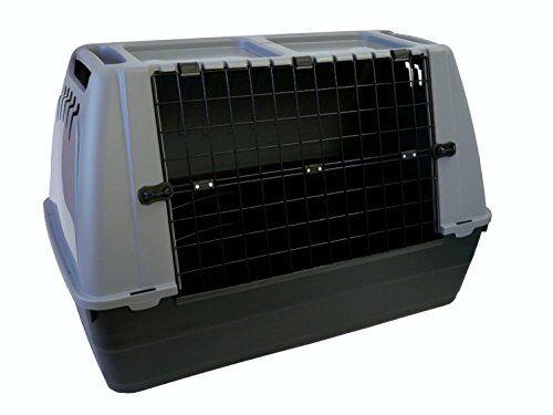ornisud trasportino cani bracco 80 cane per auto box cuccia animali e gatti plastica