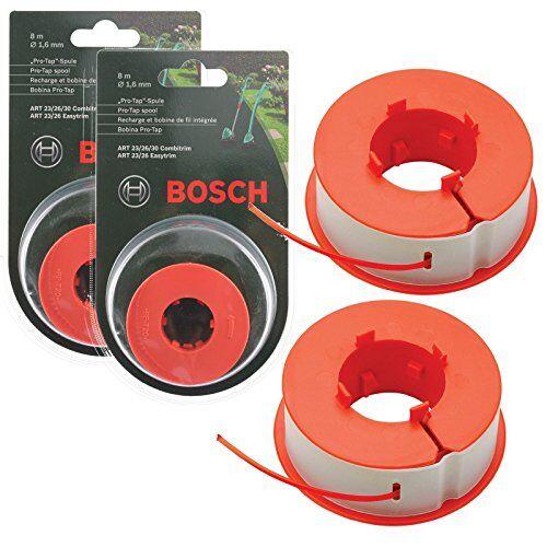 Bosch Genuine Bosch ART 232630Combitrim Easytrim Strimmer/Grass trimmer pro-tap automatico spool Line (16M, F016800175)