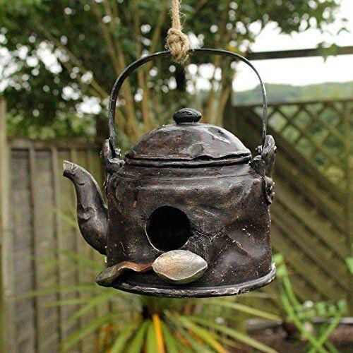 Kingfisher-Vecchio bollitore elettrico casa uccello