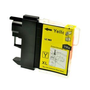 Italy's Cartridge CARTUCCIA LC 985 GIALLO COMPATIBILE PER BROTHER Dcp J315W,Mfc J410,Dcp J125,J515W,Mfc J265W LC985 ALTA CAPACITA' 20ML