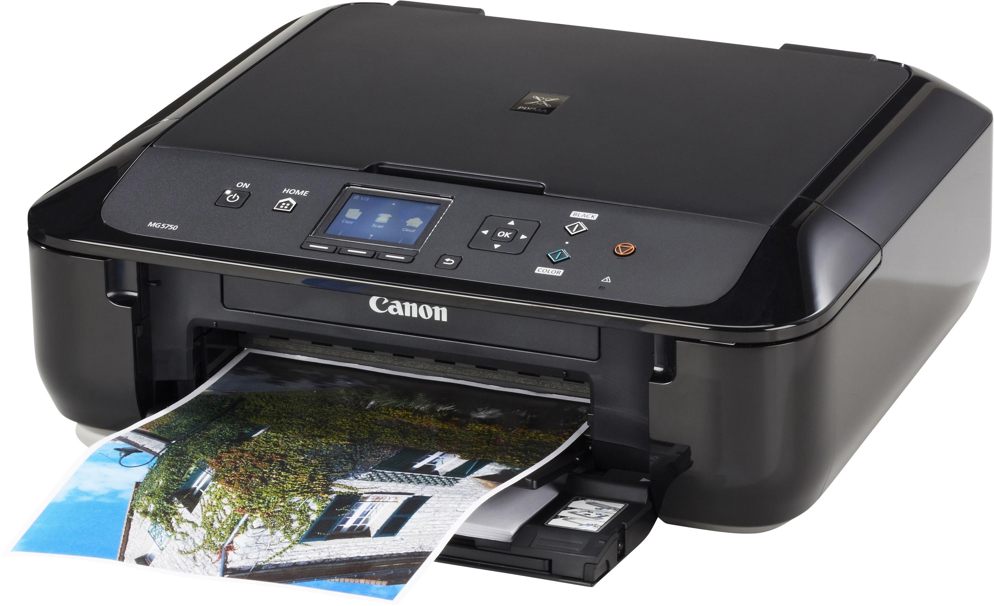 Canon STAMPANTE CANON PIXMA MG5750 - MULTIFUNZIONE WIRELESS A4 - SCANNER - 12,6 IPM IN STAMPA -USB 2.0  - NUOVA IMBALLATA!