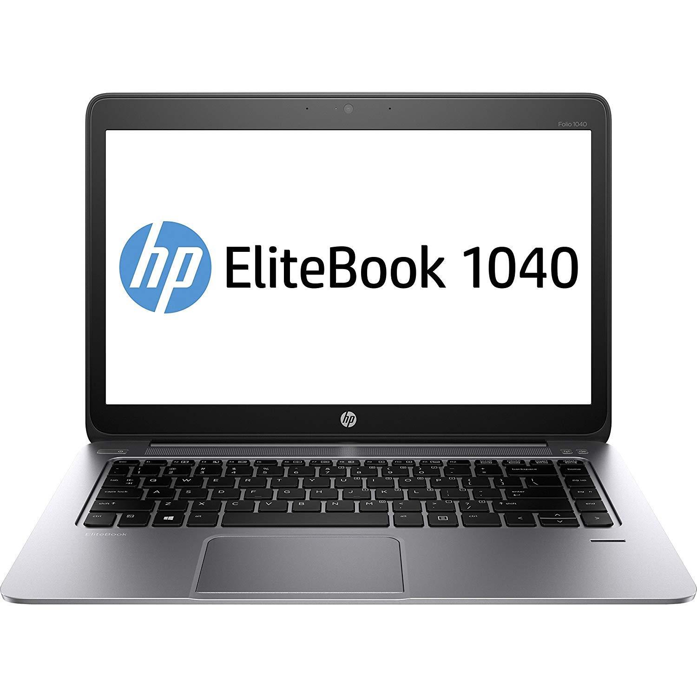 """Olivetti NOTEBOOK HP EliteBook Folio 1040 G1 i5-4200U WWAN 4Gb RAM 180Gb SSD 14"""" HD+ CON WINDOWS 10 PRO RICONDIZIONATO GRADE A+++"""
