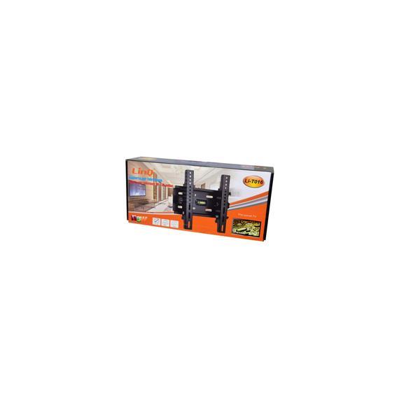 Italy's Cartridge supporto staffa porta tv a muro linq li-t016 da 10 a 32 pollici - da 10 a 32 - portata 40kg vesa max 210x210 livella inclusa