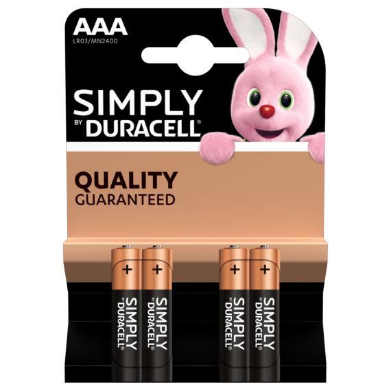 Italy's Cartridge batterie duracell aaa simply alcaline 4 mini stilo aaa duracell batteria mn2400 lr03 qualita garantita