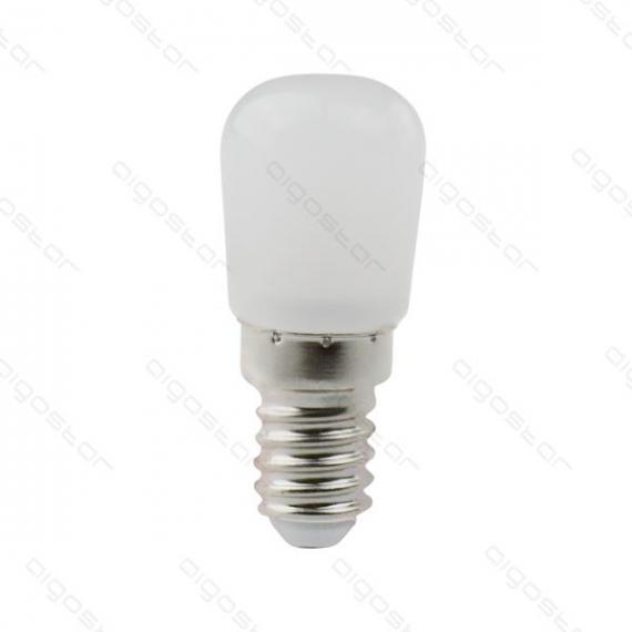 aigostar lampadina led per frigo e cappa t26 2w e14 120 lumen 6500k luce fredda w23h51.5mm - luce refrigeratore - aigostar