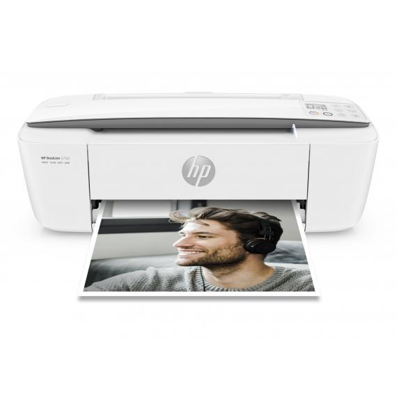 Hp stampante hp deskjet 3750 t8x12b - multifunzione wi-fi a4 - scanner - copia - 8 ppm usb 2.0 nuova imballata