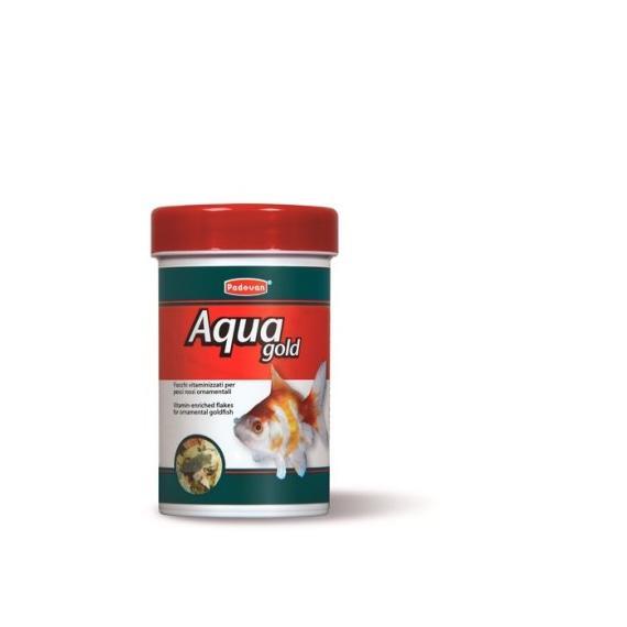 Nobleza mangime in scaglie per pesci rossi 16gr100ml padovan aqua gold per carassius auratus -