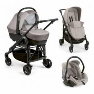 Cam Trio Combi Tris - carrozzina + passeggino + seggiolino 825 Beige