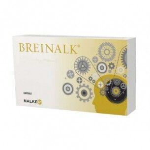 nalkein pharma breinalk - integratore naturale per memoria e salute psico-fisica 20 capsule