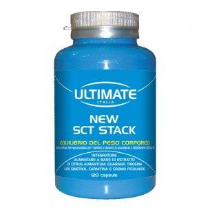 ultimate italia sct stack 120 capsule - integratore alimentare per il controllo del peso